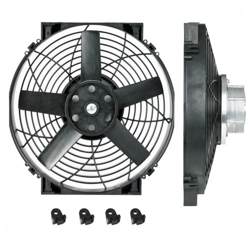 "14"" Brushless Thermatic® Electric Fan (12 Volt)  (0140)"