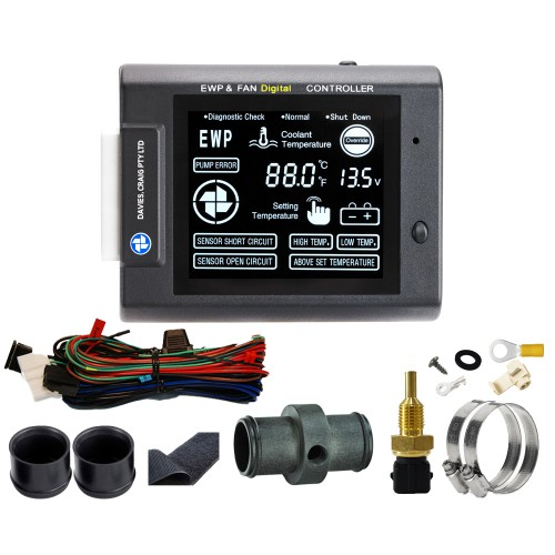 EWP & FAN Digital Controller (12 & 24V) (8001)