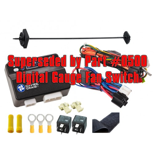 PREMIUM DIGITAL THERMATIC® FAN SWITCH (12 & 24V) (0455)