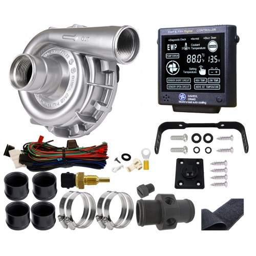 EWP115 Alloy Combo - 24V 115LPM/30GPM Remote Electric Water Pump & Controller (8951)