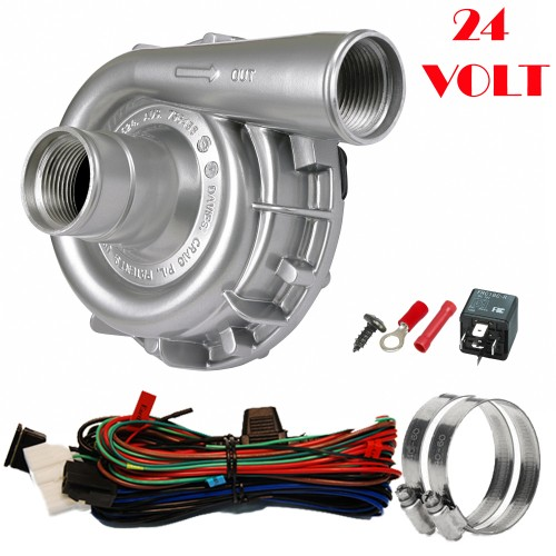 EWP115 Alloy Kit - 24V 115LPM/30GPM Remote Electric Water Pump (8041)