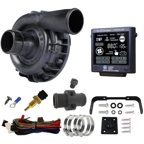 EWP115 Nylon Combo - 12V 115LPM/30GPM Remote Electric Water Pump & Controller Combo(8930)